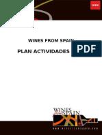 Plan Actividades.2010 ICEX winesfromSpain