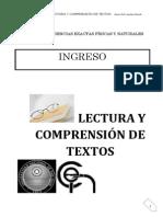 Lectura y Comprensión de Textos.