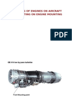 Turbine Engine Attachment to Airframe April 2015