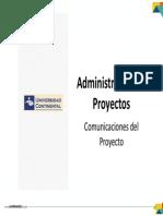 Tema 11 - Comunicaciones Del Proyecto