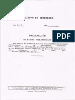 Declaracion de bienes Mariela Rodríguez