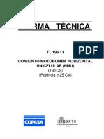Norma Técnica T.196-1