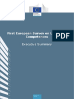 First European Survey on Language