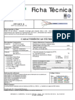 Ficha Técnica UTP 5E