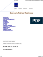 Exercício Prático Mediúnico _ Algumas Técnicas