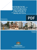 Guidebook on Registering Property in Malaysia