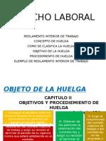 Presentacion Derecho Laboral Huelga