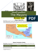 mayan answer key