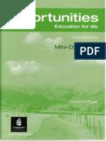 New opportunities pre-intermediate решебник