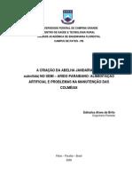 ABELHAS JANDAIRA ALIMENTAÇÃO