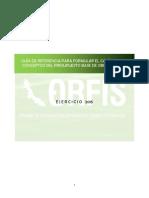 Guía de Referencia Para Formular El Catálogo de Conceptos Del Presupuesto Base de Obra Pública 2015