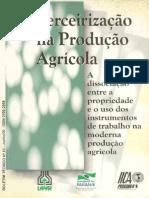 LAURENTI - 2000 - Terceirização Na Produção Agrícola