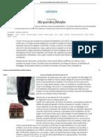 Desprecio a La Filosofía_ Mis Queridos Filósofos _Landero
