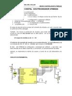 Voltimetro Digital Con Procesador Atmega8