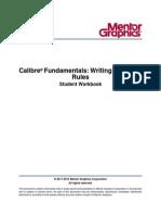 Calibre Fundamentals Writing Drc Lvs Rules 058450