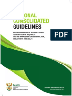 National Consolidated Guidelines for PMTCT and the Management of HIV in Children, Adolescents and Adults