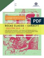 Becas CLACSO CONACYT 2015 B POSTGRADOS HABILITADOS 2015
