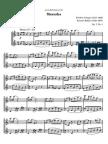 Chopin Mazurka Op7 No1 flute duo