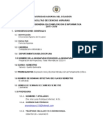 Preparaciòn de Proyectos y Tesis Informàticos 2015