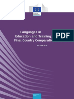 Languages in   Education and Training