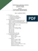 Judicial Ethics_Revised Syllabus