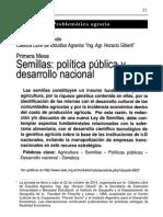 IADE - Semillas, Política Pública y Desarrollo Nacional