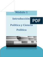 Teoría General Del Estado I - Módulo 1