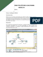 Configuración RIPv2