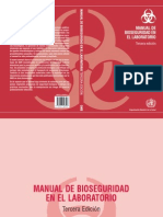 Manual de Bioseguridad Por Niveles en Labs.