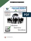 Selenium Java Interview Questions