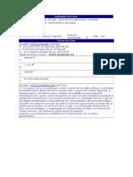 Estatística Aplicada - (25) - AV2 - 2011.3
