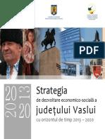 Strategie de Dezvoltare a Jud Vaslui 2013_2020