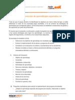 Orientaciones Ficha de Estrategias de Correccion de Aprendizajes Esperados No Logrados