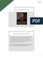 step 4 analyze data