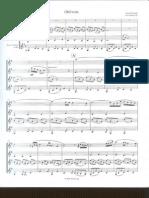 A.piazzolla - Oblivion - Score