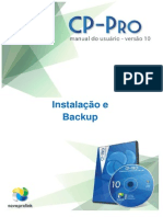 Manual CPPro Instalacao Backup