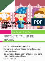 Proyecto Transversal de Teatro