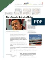 Ahora Camacho Deslinda a Rodrigo Medina