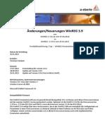 Änderungen WinREG V3.8.18-V3.9.6 20130125