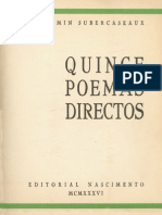 Quince poemas directos
