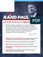 Rand Paul's Fair and Flat Tax