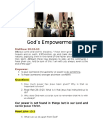 38Engage - Gods Empowerment