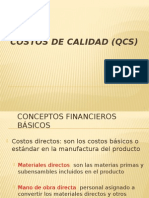Costos de Calidad (Qcs)
