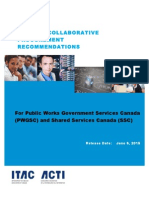 Smart Collaborative Procurement Recomendations for PWGSC and SSC ITAC White Paper