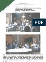 Documento de Salvador Mazza. Pautas para pensar entre todos la reorganización del radicalismo.