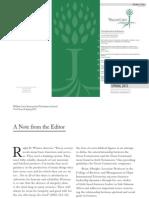 WCIDJ Spring 2015 Volume 4, Issue 2