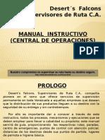 Manual de Central de Operaciones
