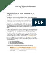 Documentation DC Migration Tool