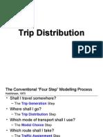 Trip Distribution 18-3-2009