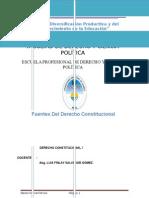Fuentes Del Derecho Contitucional Peruano